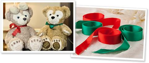 ダッフィー、シェリーメイをご注文のお客様全員へキュートなリボンをプレゼント中!!